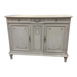 Painted Antique French Cabinet