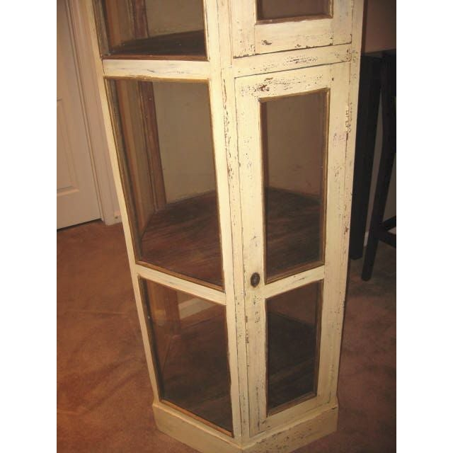 Pine Wood Curio Display Cabinet - Image 5 of 7