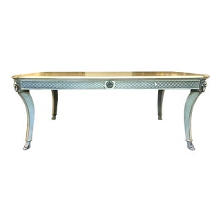 John Widdicomb Regency Coffee Table