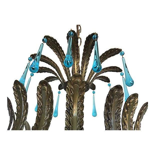 1960s Brass Acanthus Lantern - Image 4 of 6