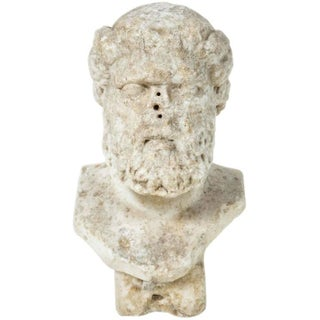 Second Century Bust of a God