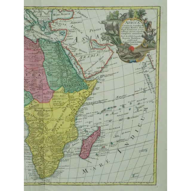 1778 Africa Map by Lotter - Image 8 of 10