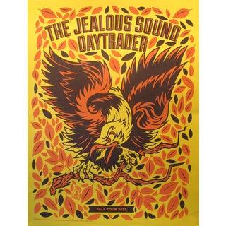 2012 American El Jefe Concert Poster, The Jealous Sound/Daytrader
