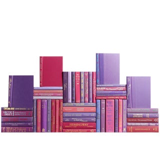 Modern Berry Book Wall, S/50