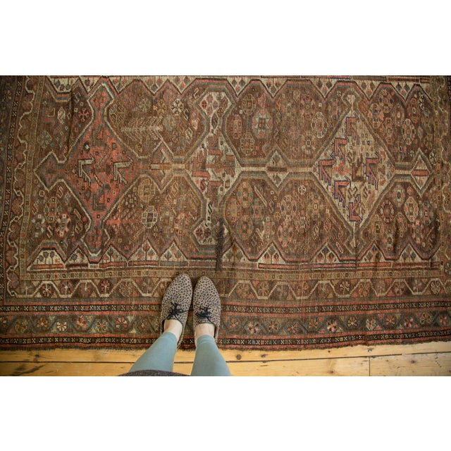 "Antique Kamseh Rug - 4'6"" x 6'8"" - Image 2 of 10"