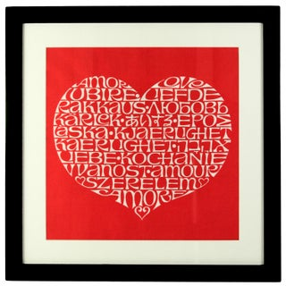 International Heart Textile Art by Alexander Girard