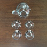 Image of Mid Century Silver Band Liquor - Set of 5