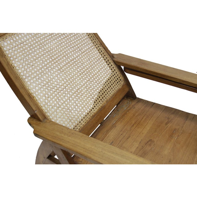 Southern Indian Plantation Chair - Image 3 of 3