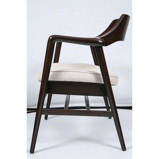 Gunlocke Wood Framed Armchair - Image 8 of 10