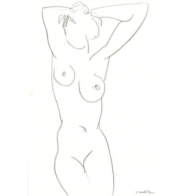 Image of Henri Matisse Nude Drawing, 1952