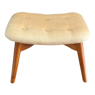 Tufted Retro Petite Bench or Foot Stool