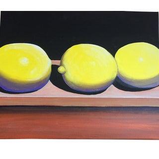 Lemons Still Life Painting