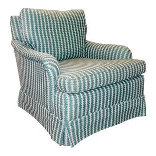 Baker Furniture Upholstered Living Room Armchair