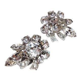 Eisenberg Rhinestone Earrings
