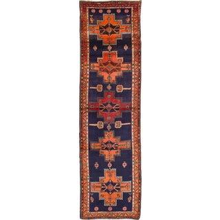"Vintage Meshkin Persian Rug - 3'7"" x 13'0"""