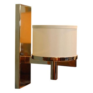 Paul Marra Design Silk Drum Sconce