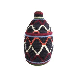 Black Moroccan Bread Basket