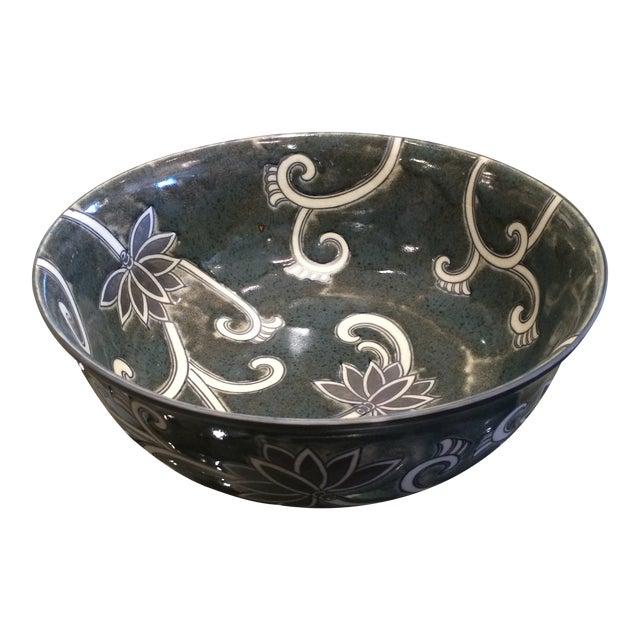 Floral Ceramic Bowl - Image 1 of 5