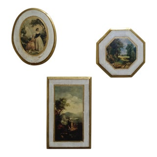 Florentine Wall Plaques - Set of 3