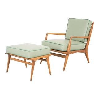 Carlo di Carli Lounge Chair + Ottoman