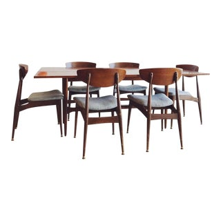 Mid-Century Daystrom Dining Table With 6 Chairs