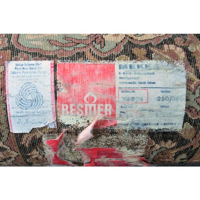 Vintage Besmer Wool Rug - 8′4″ × 11′8″ - Image 9 of 10