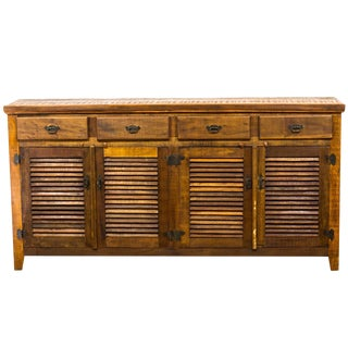 Rustic Eco-Friendly Reclaimed Solid Wood Sideboard