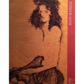 1989 Egon Schiele American Exhibition Poster