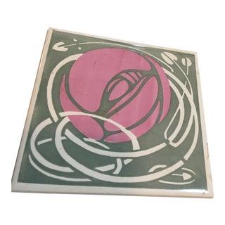 Charles Rennie Mackintosh Tile