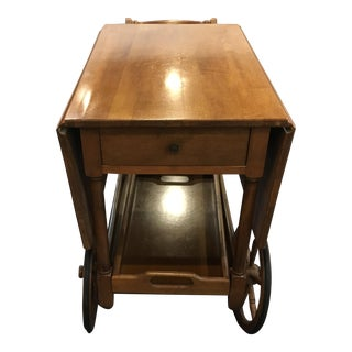 Mahogany Trolley Bar/Tea Cart
