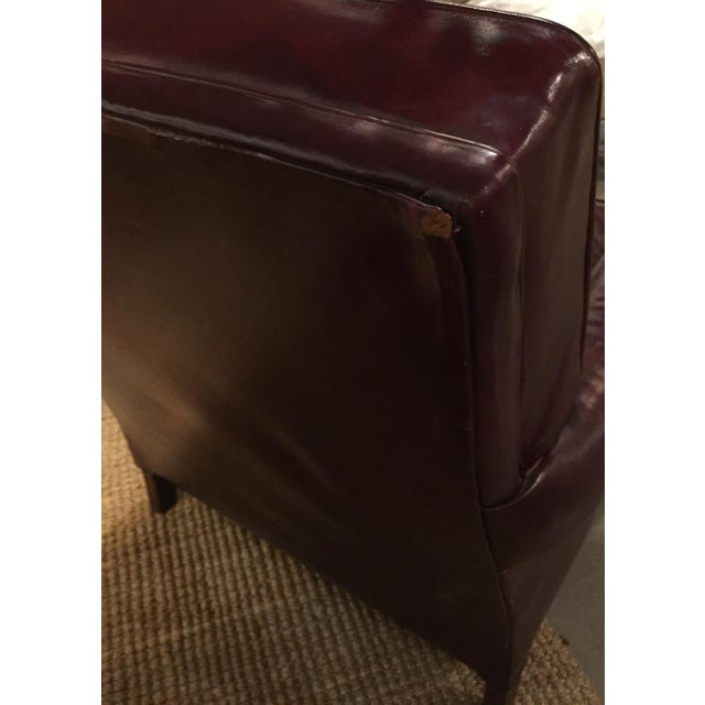Image of Mid Century Sloane Leather Club Chair