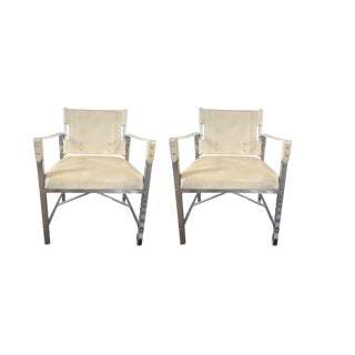 Palecek Parkhurst Occasional Chairs - A Pair
