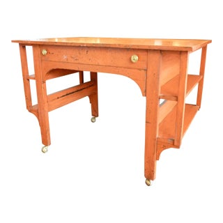 Painted and Patinated Desk/Table