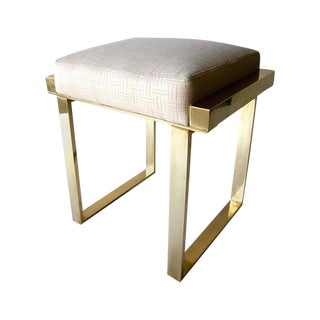 "Hollis Jones ""Boxline"" Stool"