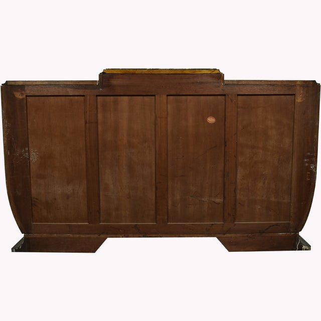 1930's French Art Deco Mahogany Buffet - Image 5 of 10
