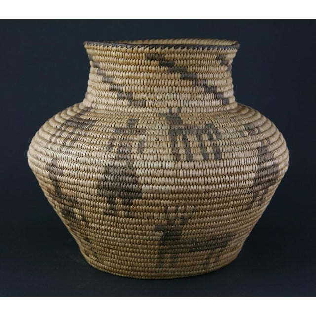 Pima Figurative Basketry Olla, circa 1920 - Image 5 of 7