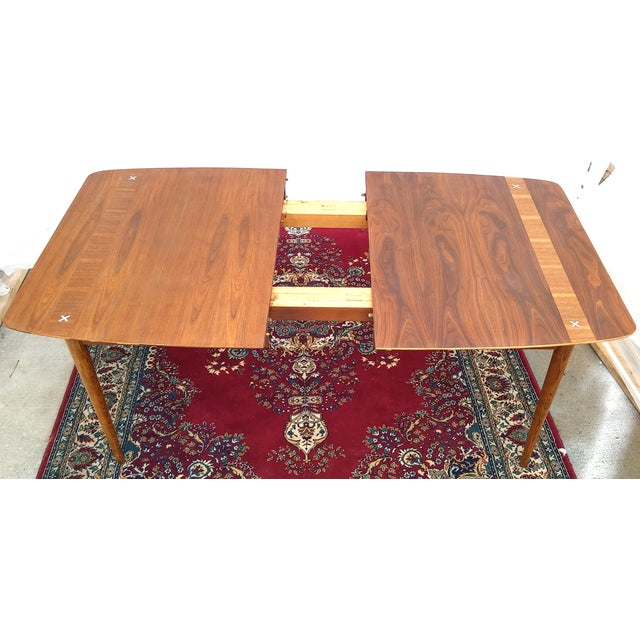 Refinished Vintage Mid Century Modern Dining Table - Image 6 of 7