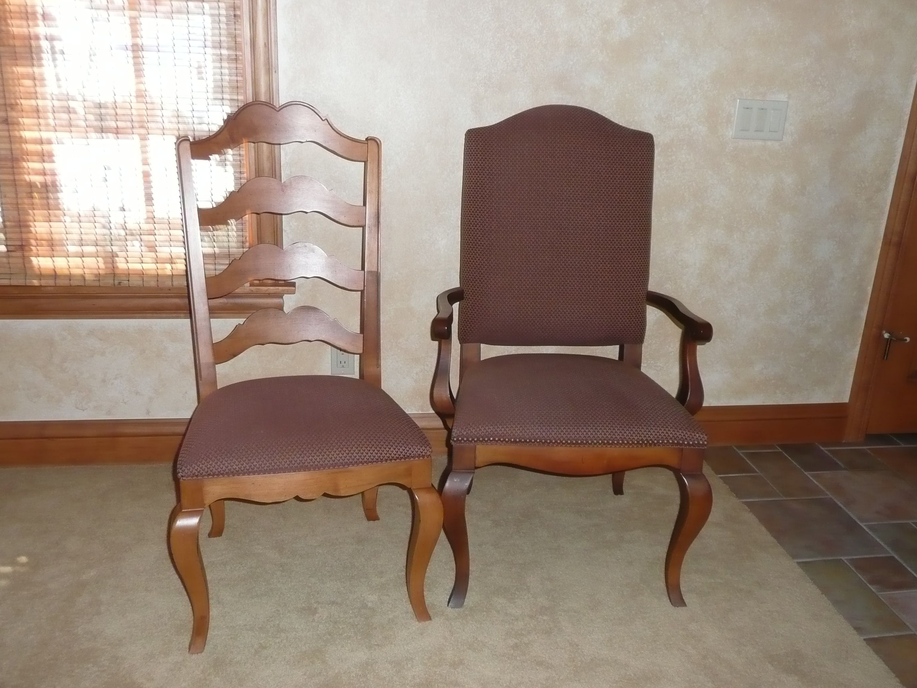 Ethan Allen French Country Dining Chairs S 4