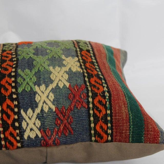 Turkish Handmade Kilim Pillow Cover - Image 5 of 6