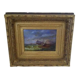 "Original Painting ""The Shipwreck"", Circa 1840"