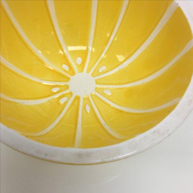 Vintage Yellow Grapefruit Bowls - Set of 4 - Image 7 of 10