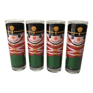 Georges Briard 'Toy Soldier' Highball Glasses - Set of 4