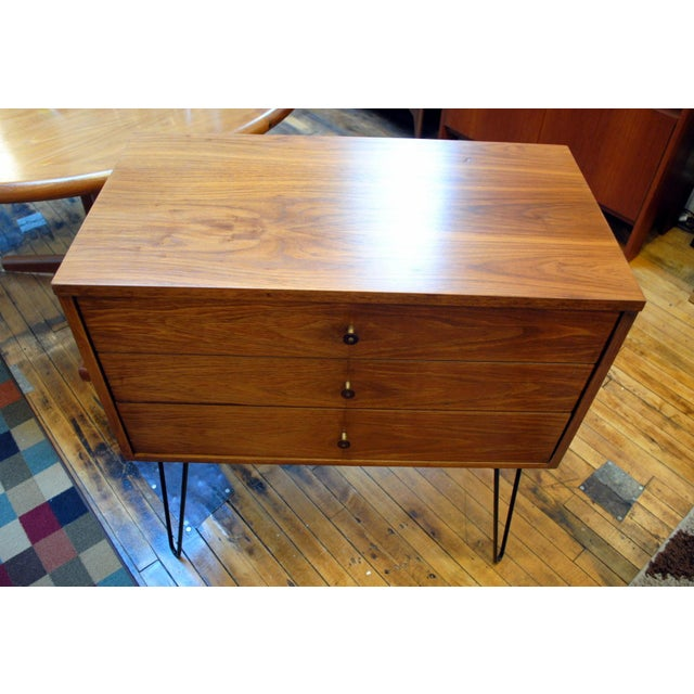 Mid Century Chest With Hairpin Legs - Image 3 of 7