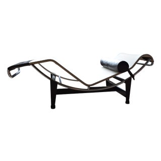 Authentic Cassina LC4 Chaise Lounge
