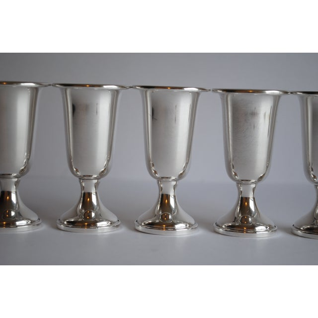 Image of Sterling Silver Cordials - Set of 5