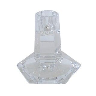 Frank Lloyd Wright Crystal Candlestick by Tiffany
