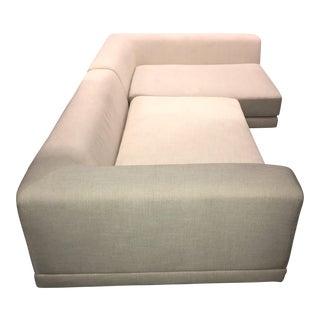 CB2 Uno Sectional Sofa