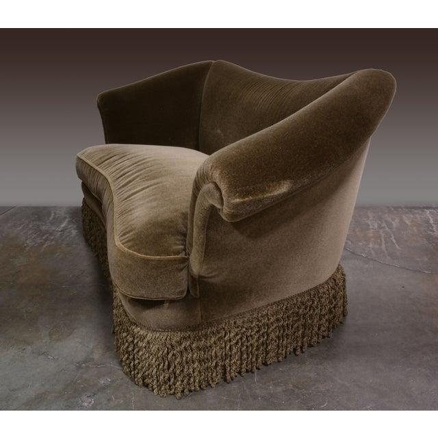 JJ Customs Diva Sofa in Mohair Velvet - Image 5 of 6