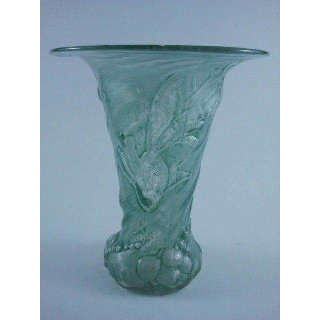 Mould-Blown Art Glass Goldfish Vase - Image 2 of 5