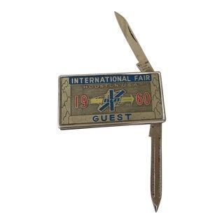 1960 International Fair Houston Pocket Knife